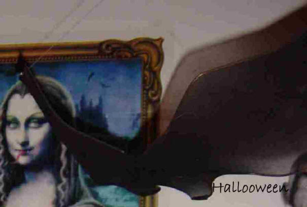 Chauve souris maison hant e secret queen - Deco halloween chauve souris ...